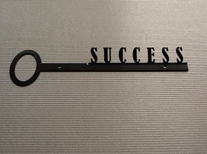 Wieszak na klucze KEYS TO SUCCESS